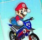 Mario manobras com moto