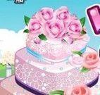Bolo de casamento de flores decorar