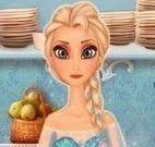 Elsa fazer cupcakes