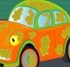 Lavar carro com sujeira