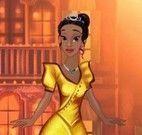 Spa com Tiana princesa da Disney