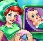 Ariel grávida exames