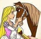 Colorir Rapunzel
