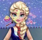 Elsa estudante no spa
