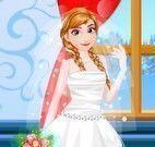 Frozen Anna noiva