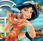 Jasmine cuidar do bichinho de estimação