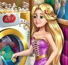 Lavar roupas com Rapunzel