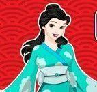 Princesa chinesa limpar casa
