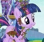 Rainy My Little Pony banho