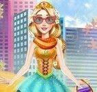 Rapunzel look fashion