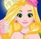 Rapunzel roupas de brilho