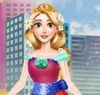 Rapunzel roupas modernas