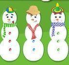 Boneco de neve cookies