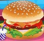 Decoração de hambúrguer