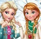 Elsa e Anna moda inverno