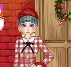 Elsa look de natal