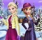 Inverno moda Anna e Elsa