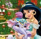 Jasmine decorar casa natal