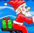 Papai Noel aventuras na neve