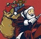 Papai Noel na moto