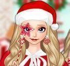 Princesa Elsa roupas natal