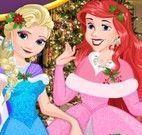 Princesas da Disney natal
