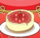 Receita de bolo branco com morango