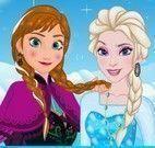 Selfie da Frozen