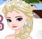Vestir Elsa noiva e Jack