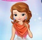 Vestir princesa Sofia