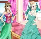 Anna e Elsa festa