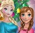 Anna e Elsa presentes