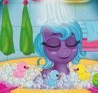 Bebê My Little Pony banheira