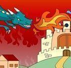 Colorir desenho do dragão