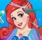 Cuidar dos cabelos da princesa Ariel