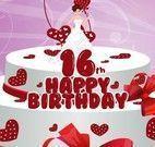 Fazer e decorar bolo 16 anos