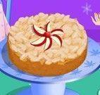 Fazer torta de maçã com amêndoas