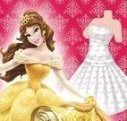 Fazer vestido da Bela