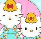 Hello Kitty mãe e filha spa