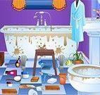Limpar sujeira de banheiro