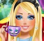Maquiagem e moda chá da tarde Barbie