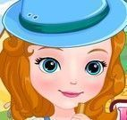 Princesa Sofia na fazenda