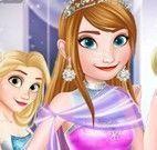 Princesas roupas do baile
