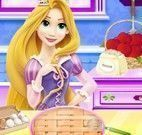 Rapunzel fazer torta de maçã