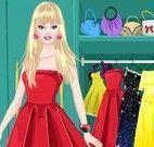 Vestidos e acessórios da Barbie