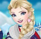 Vestir princesa Elsa