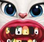 Angela cuidar dos dentes