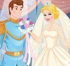 Cinderela noiva vestir