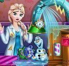 Elsa fábrica dos brinquedos