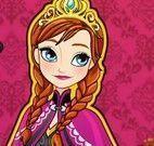 Princesa Anna vestir roupas